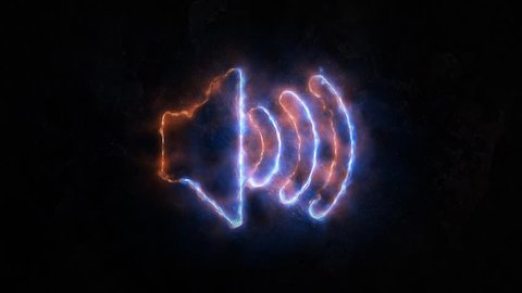Volume icon. Sound control icon or icon. Sound wave 26.