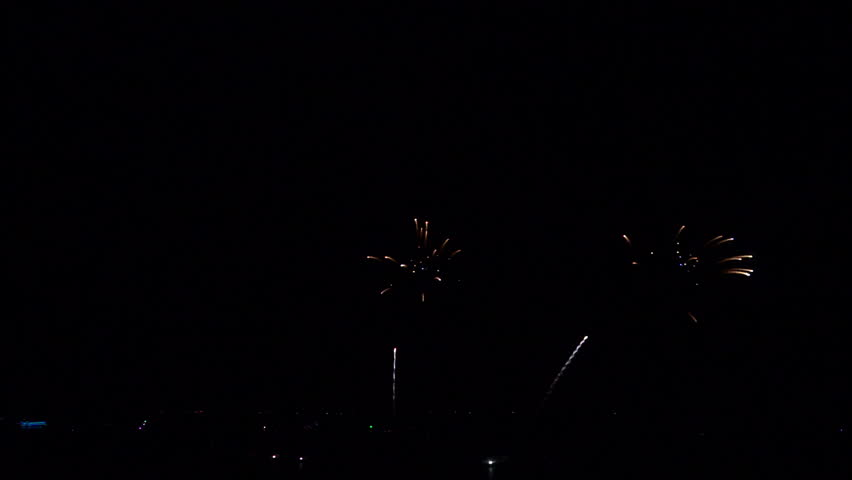 Final set of fireworks for background movie credit   Shutterstock HD Video #1012441301