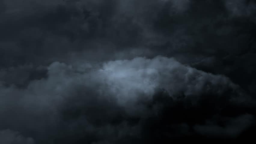 Lightning storm and dark clouds | Shutterstock HD Video #1012635341
