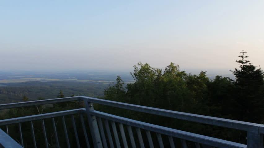 View from nature vantage point Mandelstein