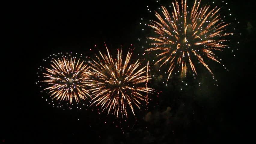 Firework at Pattaya Thailand | Shutterstock HD Video #1012714931