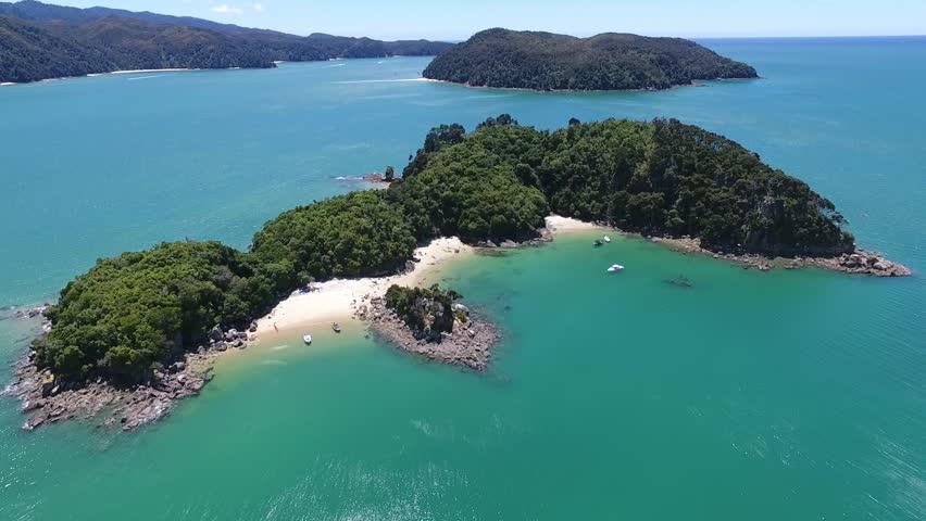 Abel Tasman Aerial View #1012785521