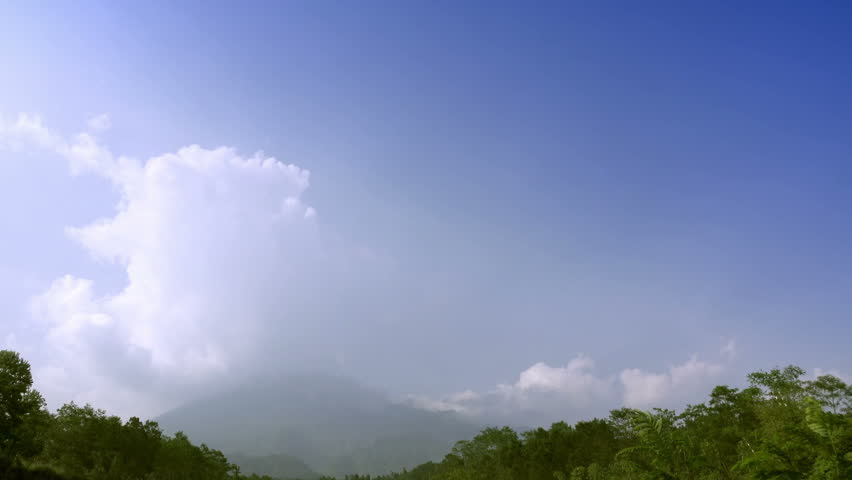 Mount Merapi, Gunung Merapi ,literally Fire Mountain in Indonesian and Javanese, is an active stratovolcano located on border between Central Java and Yogyakarta, Indonesia