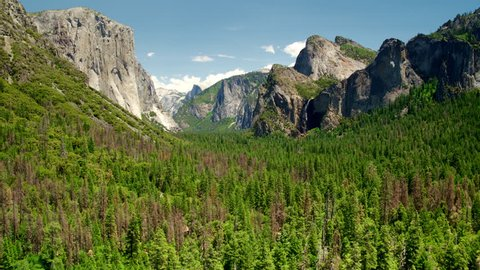 Yosemite National Park / Aerial Shots in 4k  HQ ProRes