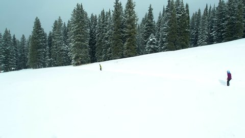 Backcountry Skiing in Aspen Colorado Mountains Skiers Ski