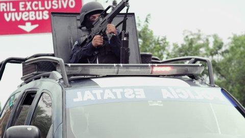 Mexican Police Raid