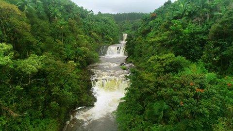Umauma Falls near Hilo, Hawaii