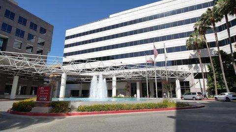 Los Angels, JUN 9: Building of LAC USC Medical Center on JUN 9, 2018 at Los Angeles, California