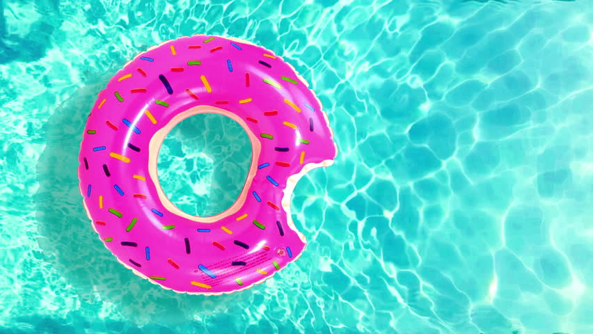 Floating Rubber Ring in Water Stock Footage Video (100% Royalty-free)  1013961851 | Shutterstock