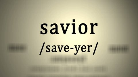 Definition: Savior (animation)