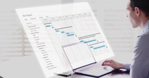 Gantt Chart Stock Video Footage 4k And Hd Video Clips Shutterstock