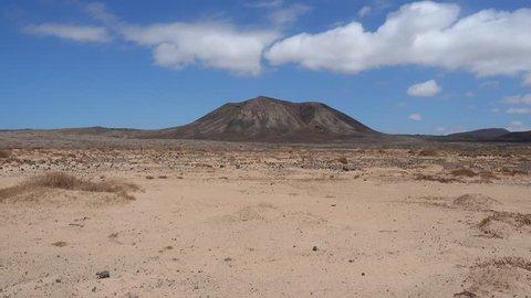 Vulcano on Fuerteventura - Canary Islands - Spain