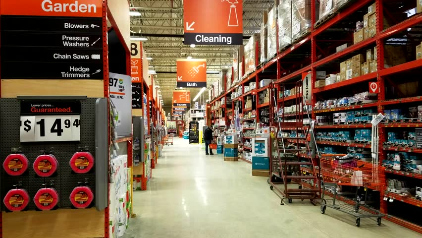 Do it yourself icon stock video footage 4k and hd video clips 4k0016home depot retail store main shopping aisle section products hanging signs saugus massachusetts usa march 16 2018 solutioingenieria Images