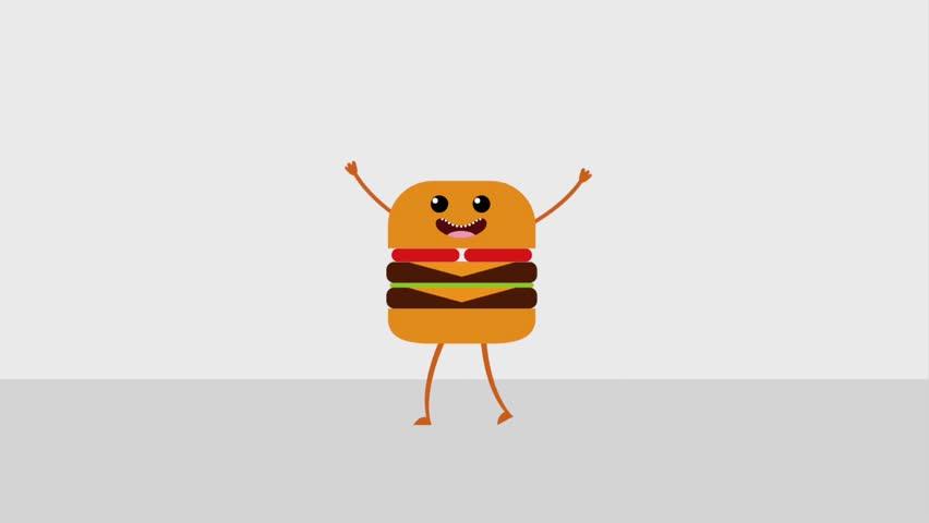 kawaii food cartoon