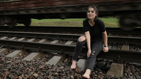 Suicides on the railway