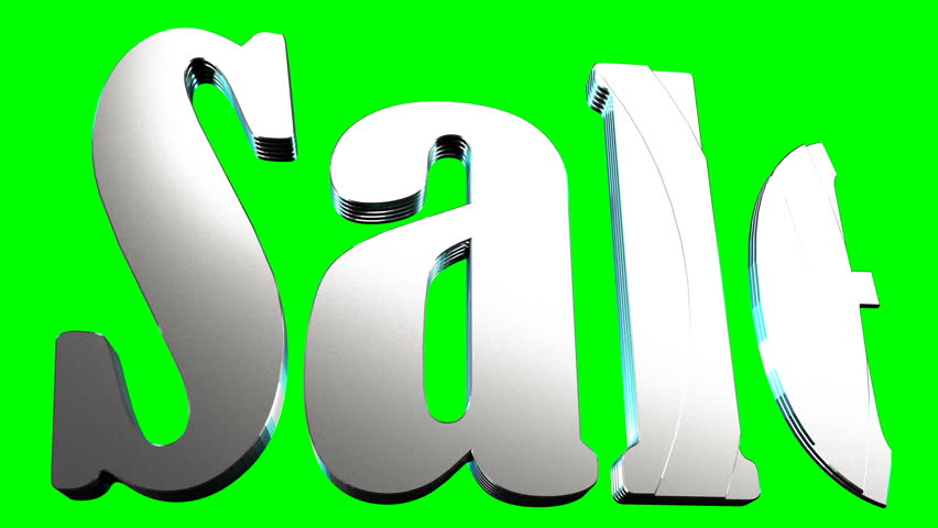 "Animated inscription ""Sale"" on a green background for peering for design of commercial sales sites 3D rendering 