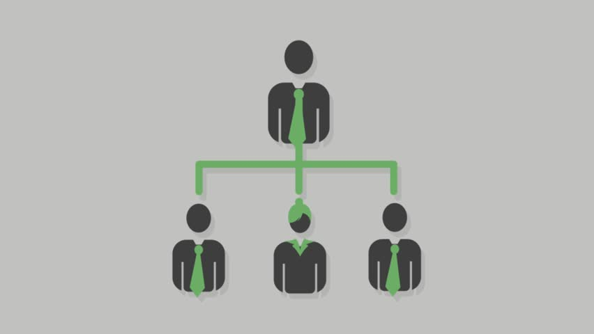 Corporate people icons animation with grey background.Business Community icon animation with grey background.