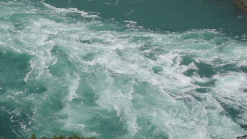 Raging Whitewater Rapids on Niagara River | Shutterstock HD Video #1014654131