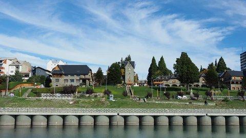 Civic Center, San Carlos de Bariloche, Nahuel Huapi National Park, Rio Negro Province, Argentina