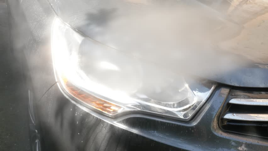Car Headlights Washing with Automatic Stock Footage Video (100%  Royalty-free) 1015031101 | Shutterstock