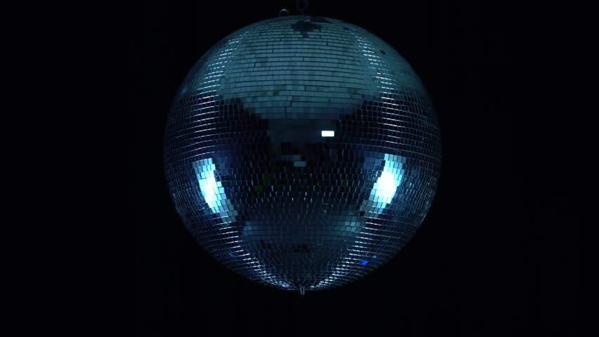 Party lights disco ball on black background | Shutterstock HD Video #1015198681