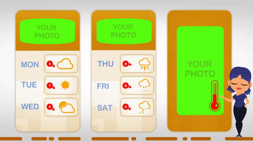 Weather in vector animation | Shutterstock HD Video #1015522351