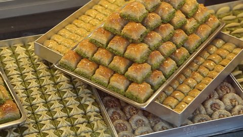 Delicious Turkish baklava on Bazaar