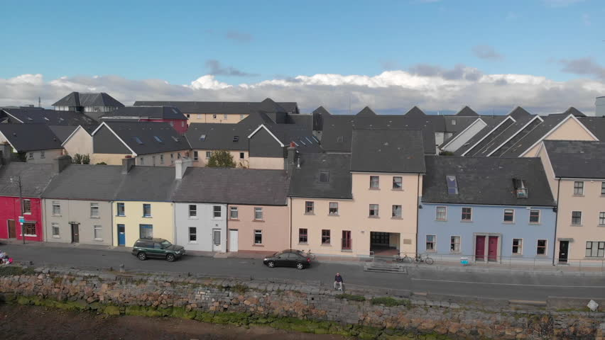 Galway, Ireland - August 7, Stock Footage Video (100% Royalty-free)  1016068591 | Shutterstock