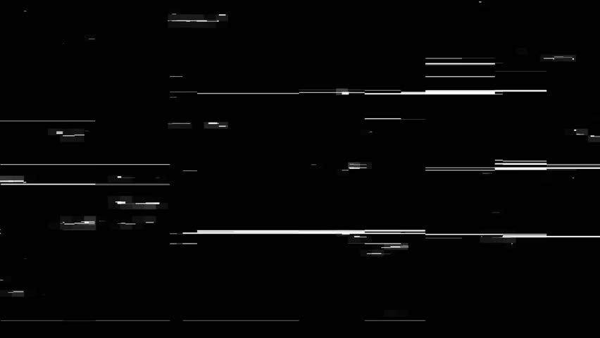 Glitch futuristic lines overlay. | Shutterstock HD Video #1016837161
