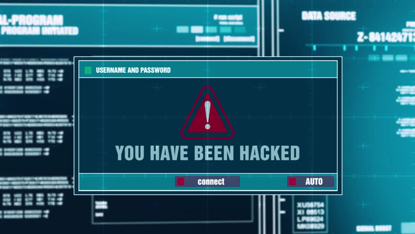 You Have Been Hacked Warning Stock Footage Video (100% Royalty-free)  1016902861 | Shutterstock