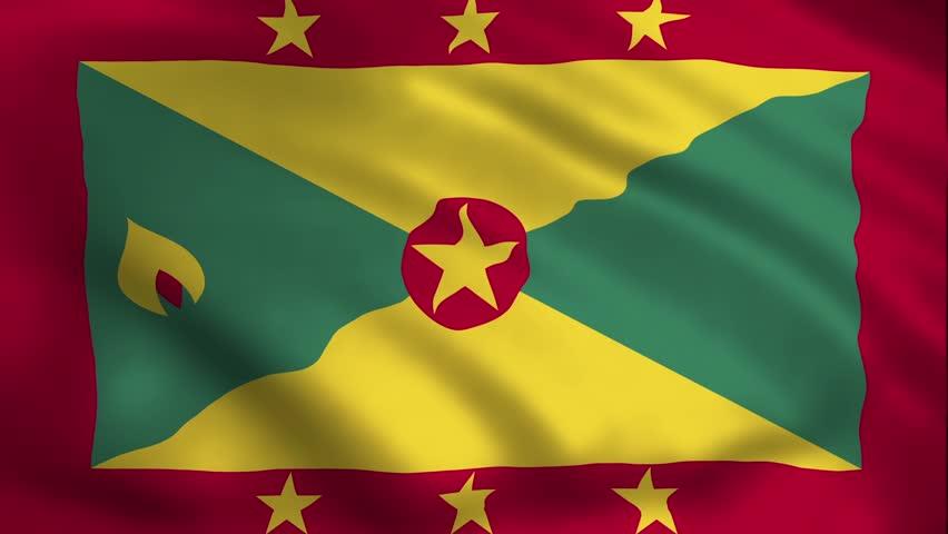 Grenada Country Flag