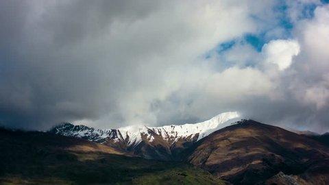 Cloud Timelapse in Wanaka New Zealand