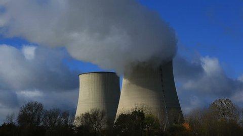 Nuclear power station, Belleville sur Loire, Cher, Centre Val de Loire, France