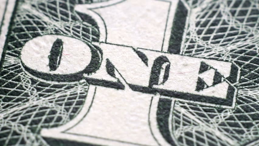 Tracking macro elements on the US one dollar bill.  | Shutterstock HD Video #1017718801