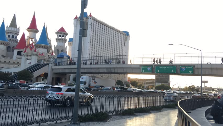 Las Vegas Strip time lapse | Shutterstock HD Video #1017878971