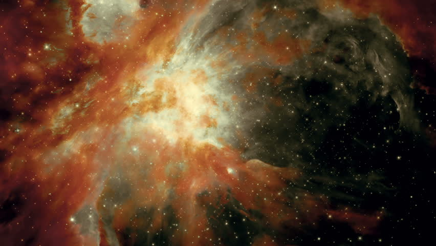 traveling through a galaxy and star fields in deep space #1018004281