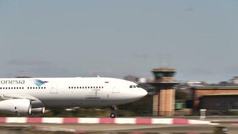 GARUDA INDONESIA AIRBUS A330-300 PK-GPT at SYDNEY AIRPORT AUSTRALIA - September 23, 2017