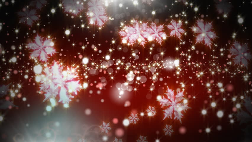 Digital composite of Magical Christmas sparkling snowflakes | Shutterstock HD Video #1018444441