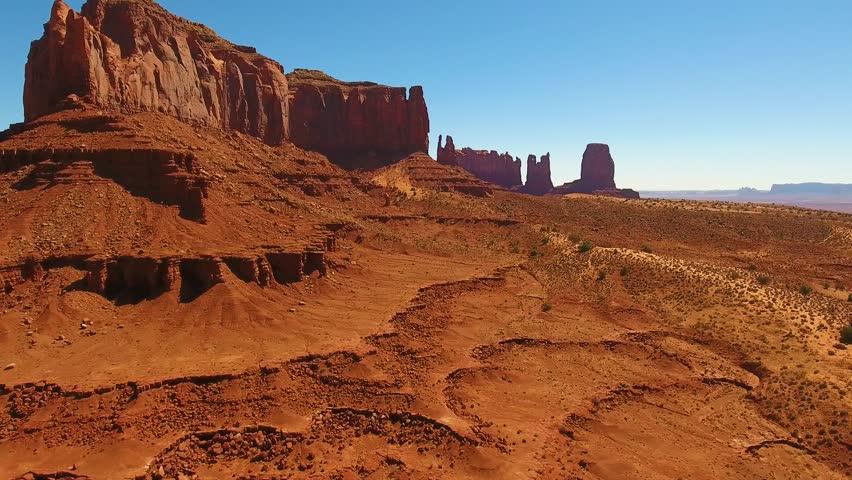 Monument Valley Utah Arizona landscape   Shutterstock HD Video #1018491331