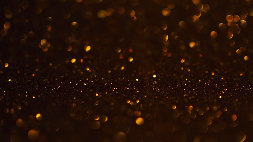 Golden Christmas background with defocused light. #1018547341