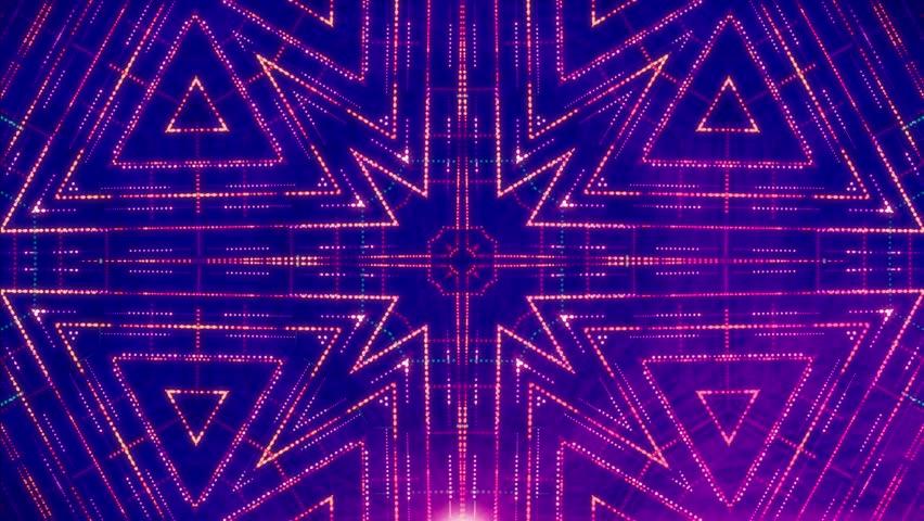 Abstract VJ loop laser led light background  | Shutterstock HD Video #1019568331