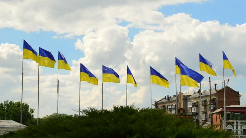 Flag of Ukraine, Kharkiv