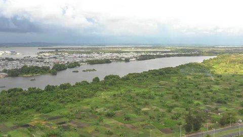 Abidjan, Ivory Coast, Africa, by drone