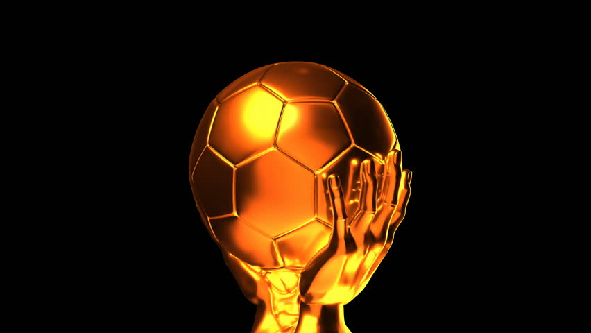 49f732c00 Loop-able Golden Soccer Cup with Stock Footage Video (100 ...
