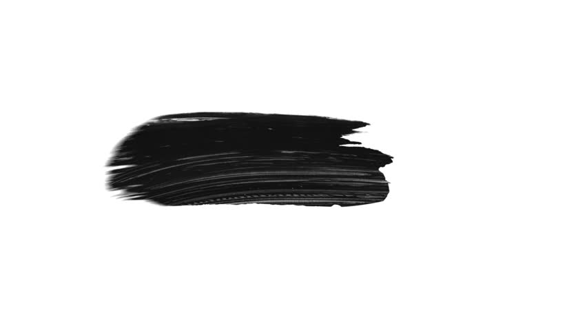 Animation grunge - brush stroke on a white background. Abstract hand - painted element. Grunge brush strokes animation. Ink splash on black background. Underline and border design. Grey and black | Shutterstock HD Video #1020225151