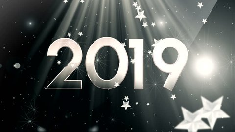 Happy new year background, Happy new year 2019, light lettering fluid neon, year lettering happy birthday, Christmas background new year snow, new Year's celebration, Happy Birth 2019 neon light,