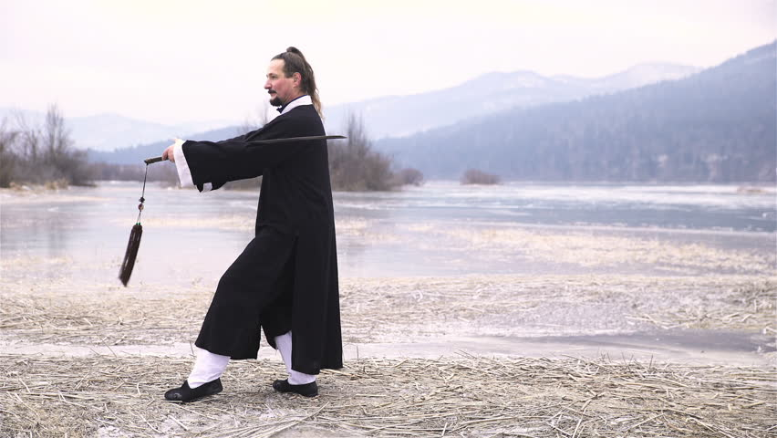 Miaodao Sword Fight Training Martial Stock Footage Video (100%  Royalty-free) 1020596701 | Shutterstock