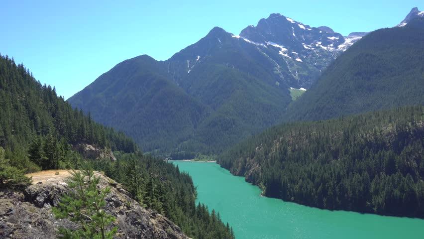 North Cascades Diablo Lake Overlook #1020732841
