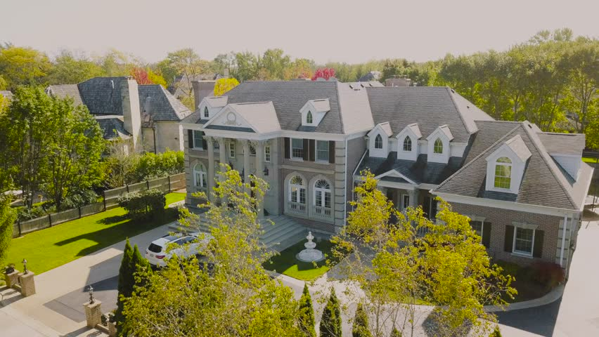 Beautiful expensive house   Shutterstock HD Video #1020780121