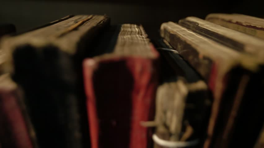 Old books on the shelf. AMASYA/TURKEY | Shutterstock HD Video #1021191601